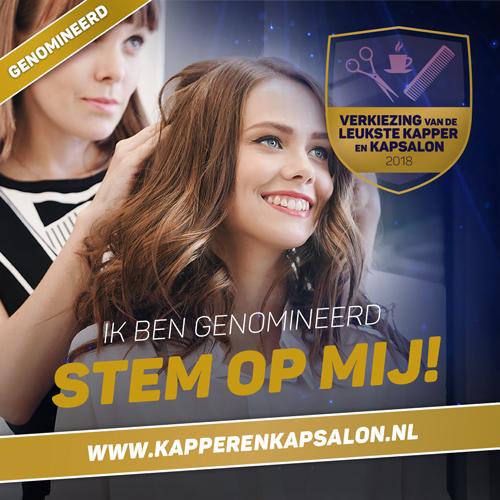 Verkiezing leukste Kapsalon 2018 she & me panningen