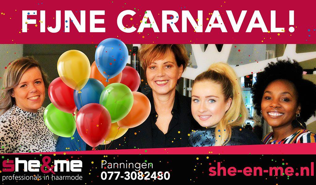 Sluitingsdagen Carnaval 2020